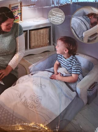 Cama hinchable con saco de dormir 2en1