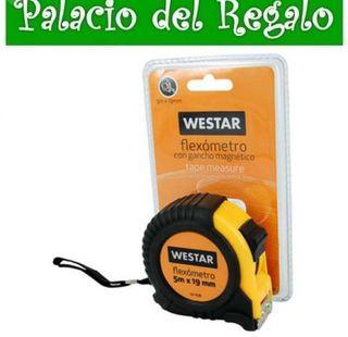 FLEXOMETRO MAGNETICO WESTAR 5M X 19MM