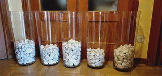 5 jarrones decorativos