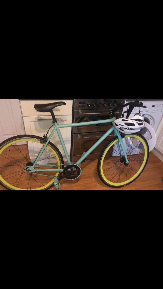 Fixie bike (80) + btwin helmet (8)