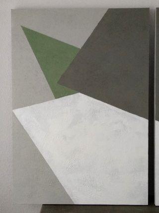 Cuadros abstractos salón
