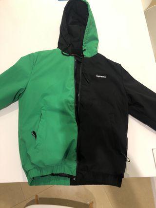 Chaqueta Supreme Verde/Negra