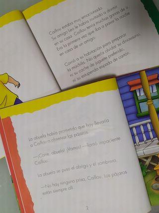 Libro Infantil Caillou