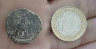 2 maravedis Felipe II