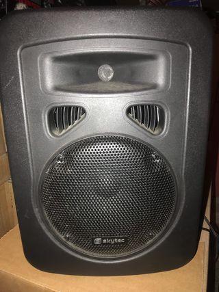 Altavoz con amplificador karaoke - NO BLUETOOTH