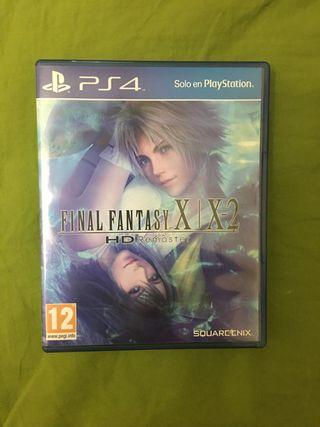Final Fantasy X X-2 remaster PS4