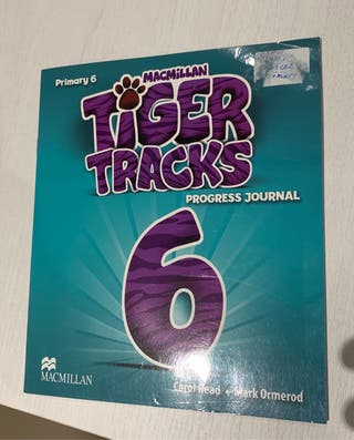 Libro y workbook Tiger Tracks 6 Primaria