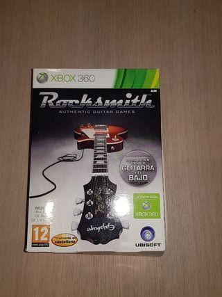 Juego Rocksmith para Xbox 360