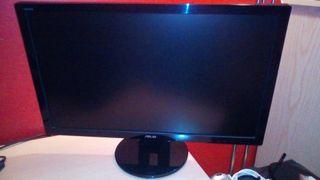 """asus 23.6"""" monitor con altavoces"""