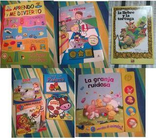 Libros variados infantiles