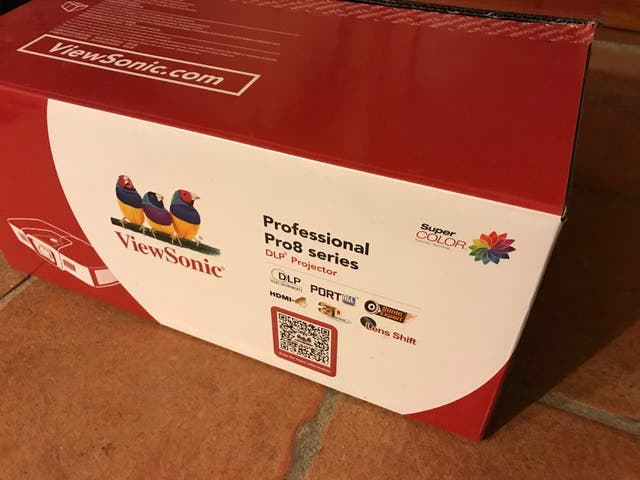 Proyector viewsonic PRO 8520 WL projector