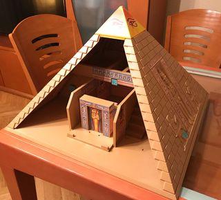 Pirámide del faraón playmobile