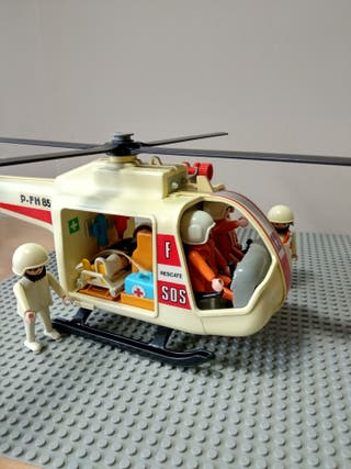 Playmobil ref. 3789-Helicoptero rescate
