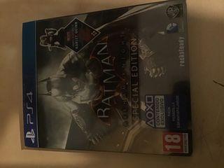 Vendo Batman arkhan Knight edición especial