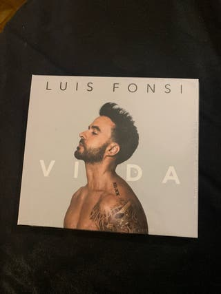 "Disco ""Vida"" de Luis Fonsi. Nuevo"