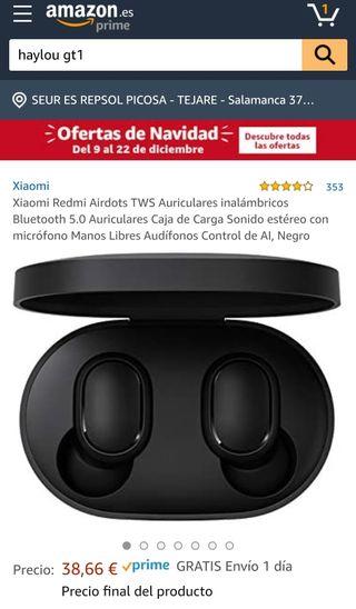 auriculares TWS xiaomi Redmi airdots originales.