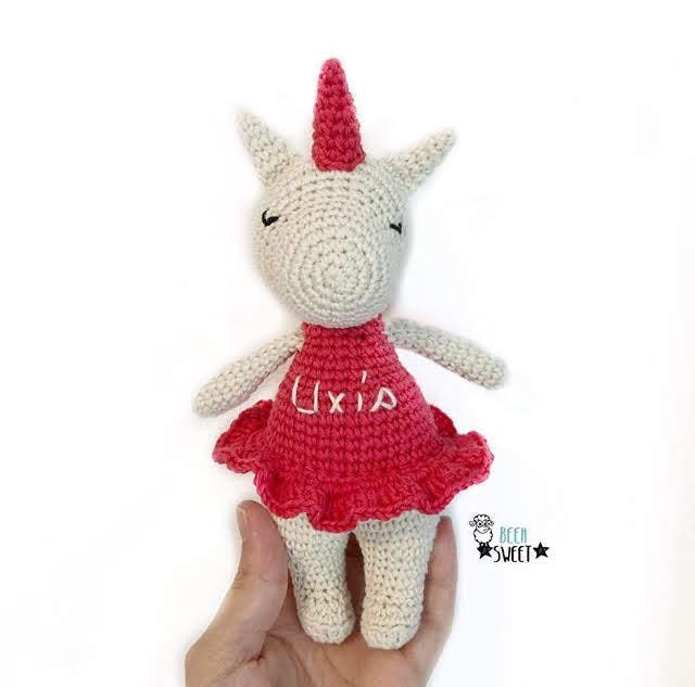 Unicornio Crochet Amigurumi parte 1 de 2 🦄🦄🦄 - YouTube | 633x640