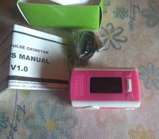 pulsioximetro rosa nuevo