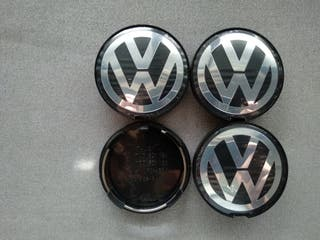 Tapabujes centro rueda Volkswagen 63mm. 7D0601165