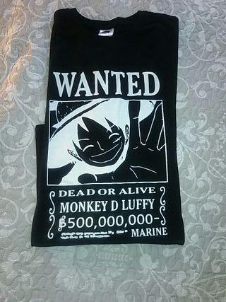 One piece camiseta manga larga