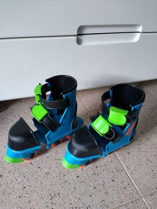 patines, casco y protecciones playskool