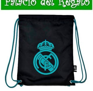 GYMSACK REAL MADRID NEGRO OFICIAL