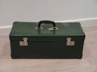Vintage maleta rectangular