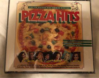 Cd Pizza Hits.Incluye 2 cd's.Nuevo