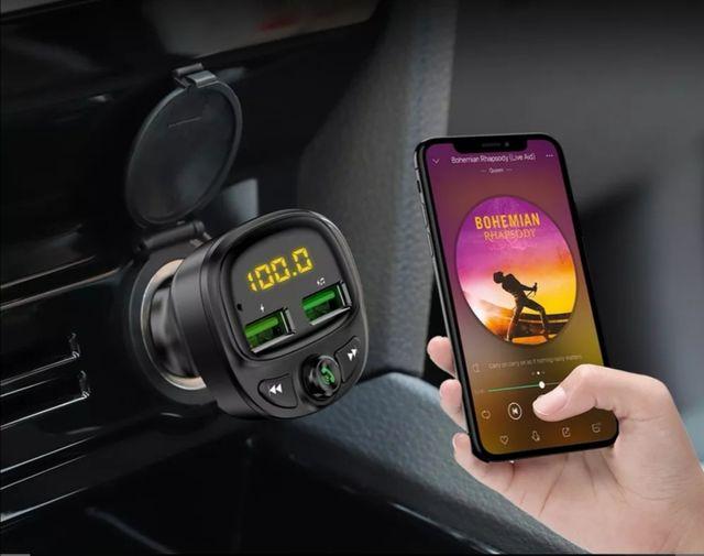 Cargador de coche, con manos libres