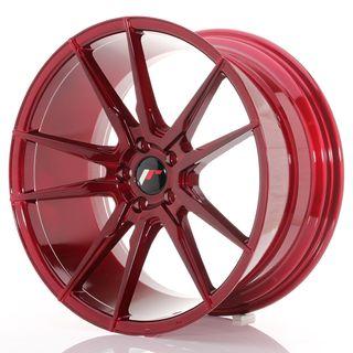 Japan Racing JR21 20x10 ET40 5x112 Platinum Red