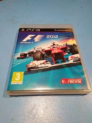 Fórmula 1 F1 2012 ps3