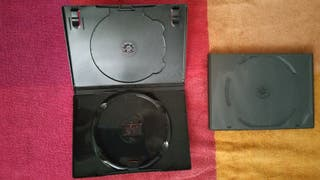 Pack de 10. Nuevas. Caja doble dvd 14 milimetros
