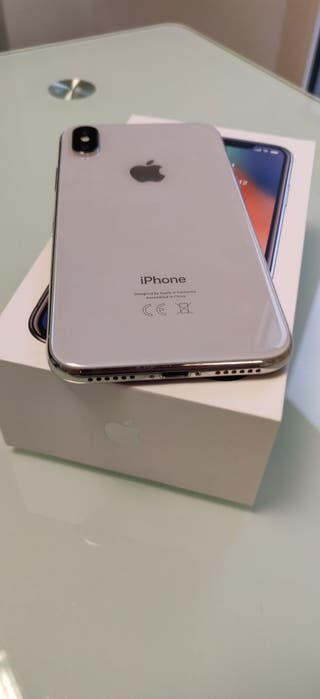 IPHONE X 256GB PLATA