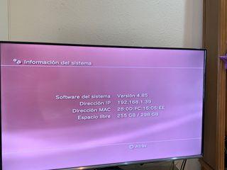 PlayStation3 + pack juegos + 3 mandos