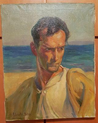 Retrato hombre Andrés Carceller Nuñez