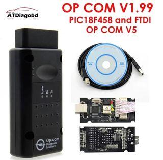 OP COM v 1,99 diagnosis para grupo Opel