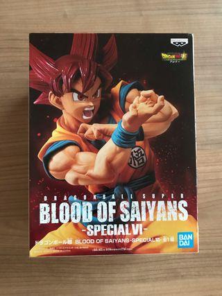Goku SSG Blood of Saiyans Special VI Banpresto