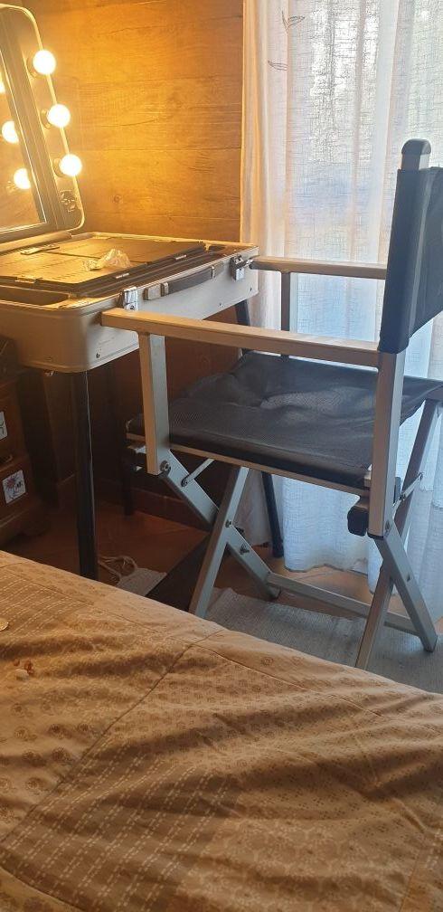 maletin tocador camerino y silla director