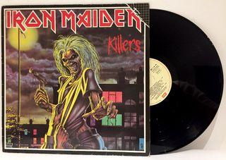 LP Iron Maiden - Killers = Asesinos