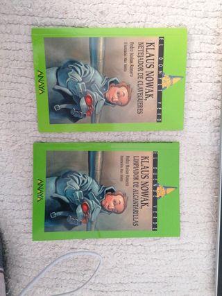 """Libros """"Klaus Nowak, limpiador de alcantarillas"""""""