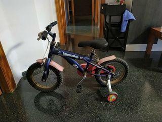 bicicleta pleglable y 14 pulgadas niño