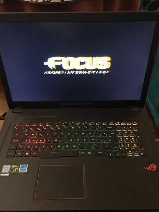 Portátil Gaming asus gl753v