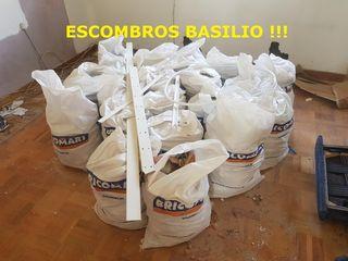 'RETIRAMOS SACOS DE ESCOMBRO!!