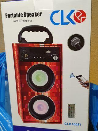 altavoz karaoke bluetooth nuevos