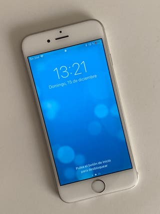iPhone 6 plata 16gb en perfecto estado