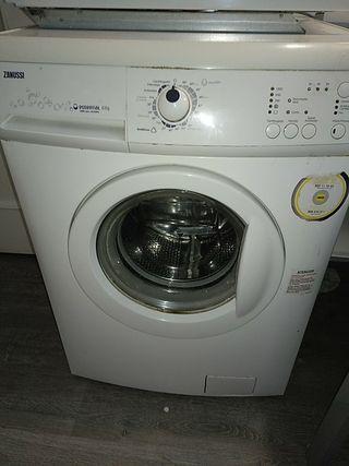 lavadora zanussi 6kg + termo