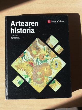 Artearen historia-Vicens Vives 2de bachillerato