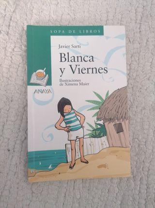 """Libro """"Blanca y Viernes"""""""