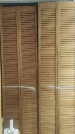 4 puertas de armario de persiana