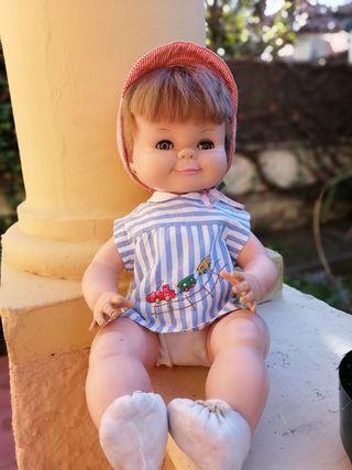 muñeco rayito de sol marcado en nuca 42 cm ropa or